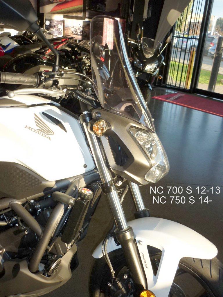 honda nc 700 s 12 13 screens for bikes. Black Bedroom Furniture Sets. Home Design Ideas