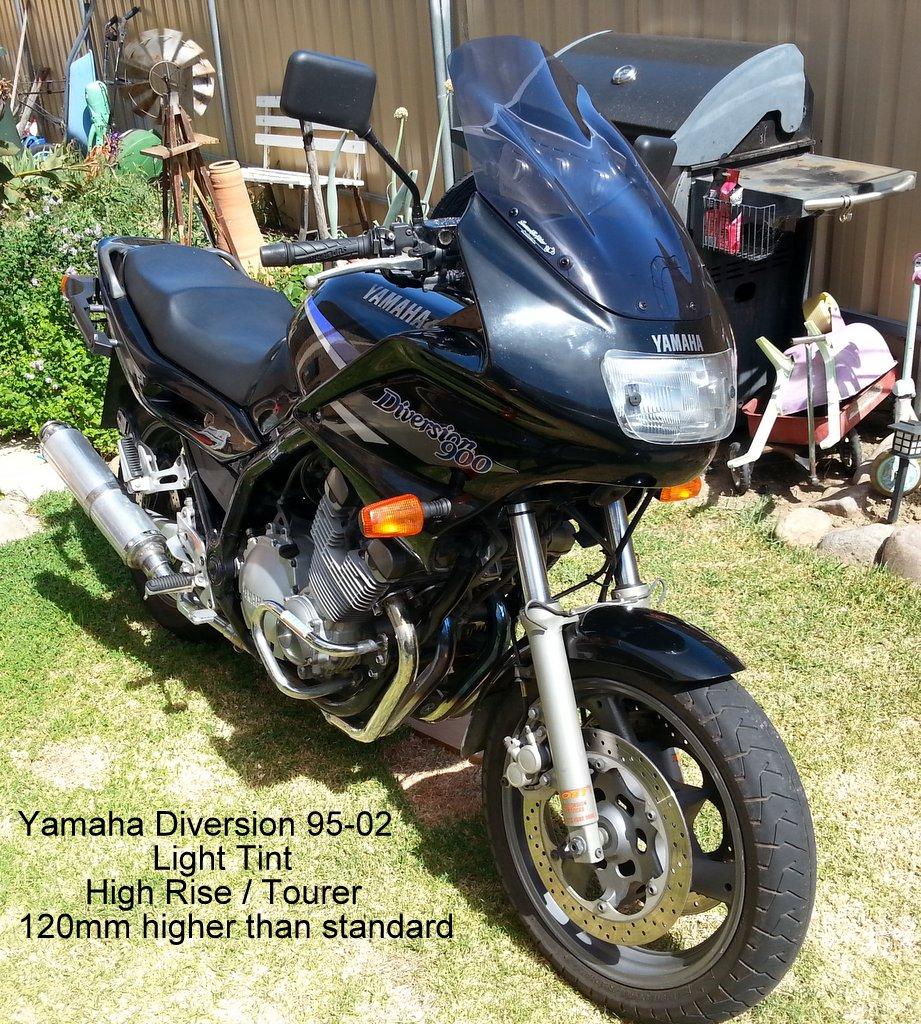 yamaha xj 900 diversion 95 03 screens for bikes. Black Bedroom Furniture Sets. Home Design Ideas