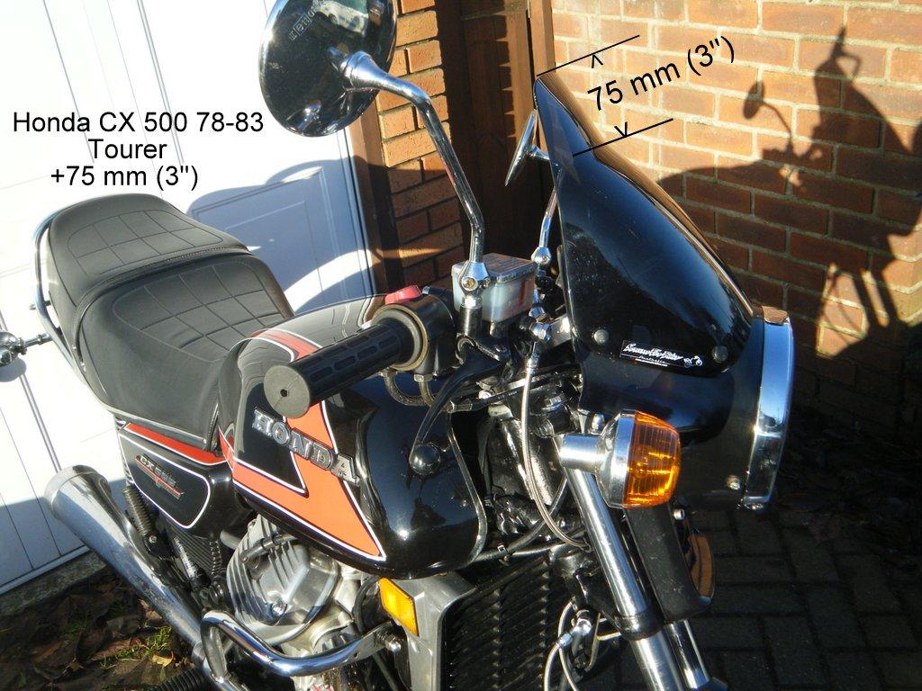 Honda Cx 500 78 83 171 Screens For Bikes