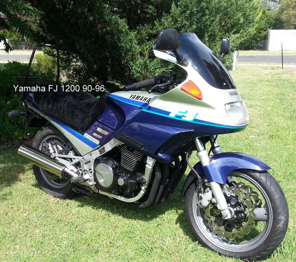 Yamaha Fj 1200 90 96 171 Screens For Bikes