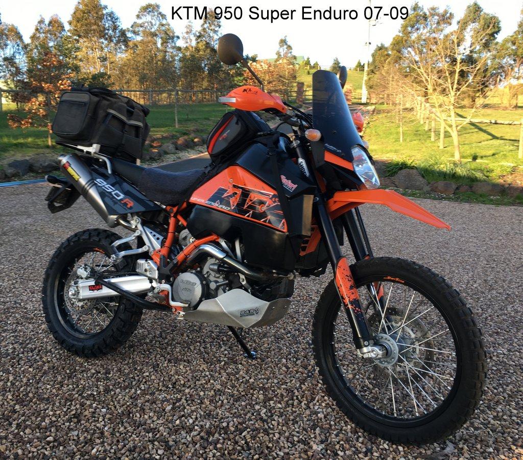 Ktm 950 Super Enduro 07 09 171 Screens For Bikes